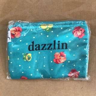 dazzlin花花圖案隨身小袋