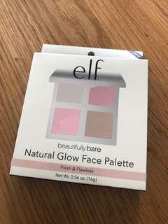Elf BEAUTIFULLY BARE NATURAL GLOW FACE PALETTE
