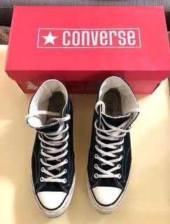 🔥急售🔥Converse 1970 chuck taylor all star 黑標 US10 🔥                                                                                         Supreme Palace Bape Stussy Gucci Burberry Fendi Lv Wtaps  Nike Adidas Jordan Champion off-white