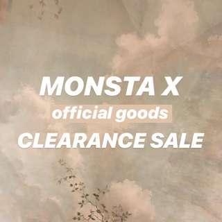 MONSTA X CLEARANCE ✨