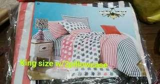 Bed sheet king size 3n1