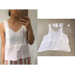 Summer Hanging Lace Top