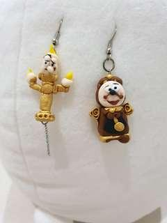 Beauty and the beast earring