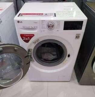 LG Washer/Dryer FC1408D4W 100% dry Combo