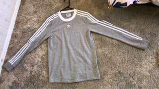 Adidas long sleeve size 8