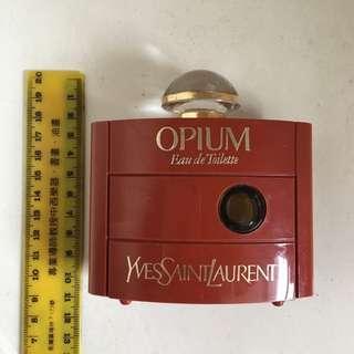 YSL Yves Saint Laurent Opium 舊款香水瓶 香水樽 vintage Made in France