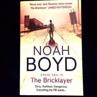 The Bricklayer by Noah Boyd (thriller action novel book)