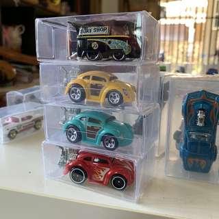 Hotwheels Volkswagen beetle & kool kombi