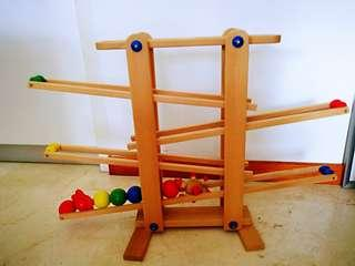 🚚 TRIHORSE wooden marble run (excellent condition)
