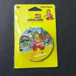 🆕 LEGOLAND Billund Fridge Magnet