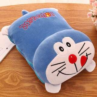 Two in One Cartoon Cushion Pillow Blanket