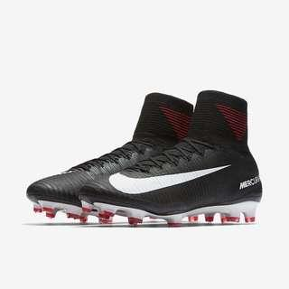 1ae185151d69 Nike Mercurial Superfly V Soft Ground Football Boots - Black