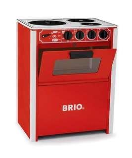🚚 Brio Play Kitchen Stove Red