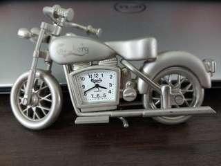 Mini Motorcycle Clock