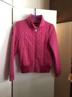 B+ab 粉紅色外套