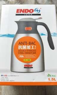 🚚 1.5 litre ENDO Stainless Steel Handy Jug
