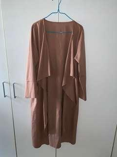 Brown Long Outerwear