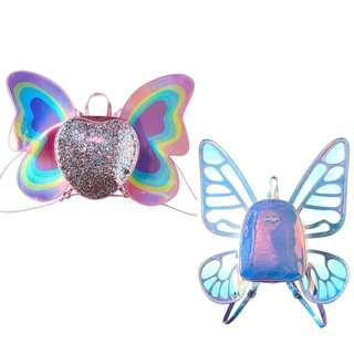 Smiggle Brittany Butterfly Fairy Princess Wings Backpack original