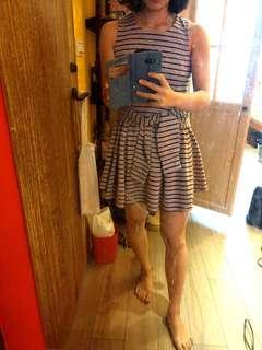 🚚 條紋傘洋 洋裝