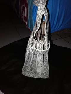 Handbag pedro and tote bag miniso
