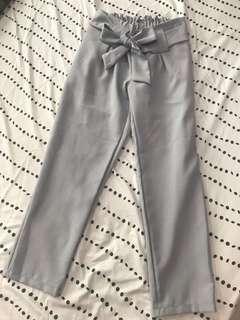 Grey Korean style pants