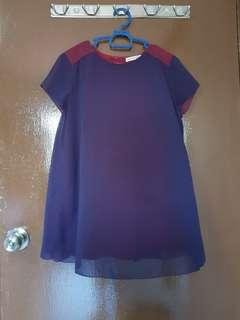 Short sleeve maternity blouse (Size S)
