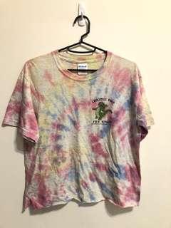 🚚 小鱷魚 🐊渲染T-shirt 古著款 vintage