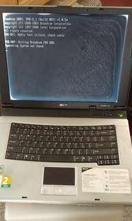 """🚚 Acer 15"""", Pentium, half working"""