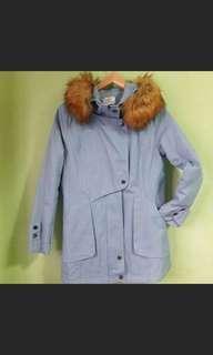 🚚 韓版剪裁鋪棉N3B軍裝外套