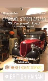 Antique Shop (Showcase) Space For Rent at Carpmael Street Bazaar