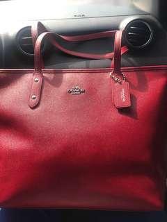 Original Coach Red Bag