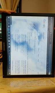 """🚚 19"""" Samsung LCD monitor, $20"""