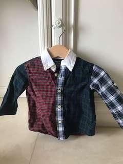 Pre-loved Ralph Lauren Baby's Shirt up to 6 month