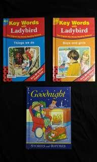 Children Story Books series:Goodnight Stories and Rhymes,Boys and Girls,Things We Do