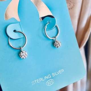 Lovisa 925 bling earrings (inc pos)