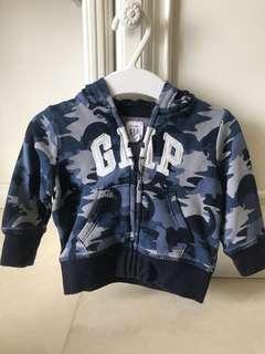 Pre-loved GAP hoodies untuk bayi 3-6 bulan