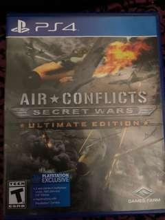 Ps4 Games Air Conflict Secret Wars Ultimate Edition