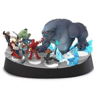 DISNEY INFINITY MARVEL 2.0 FROST GIANT COLLECTOR EDITION STAND BASE STATUE - RARE