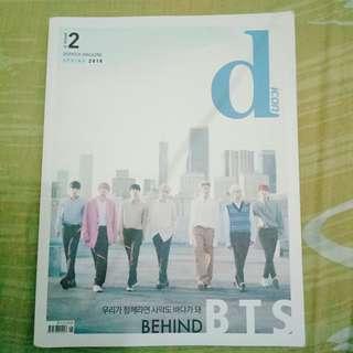 BTS DISPATCH MAGAZINES 2018