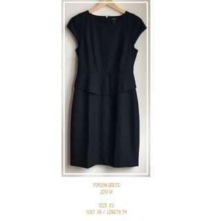 Peplum Office Dress