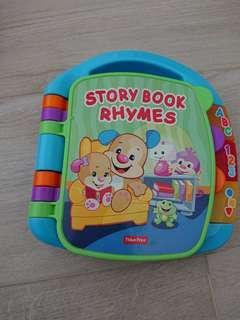 幼兒玩具 唱歌書 Story book Rhymes