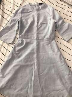 SEED light grey/blue dress