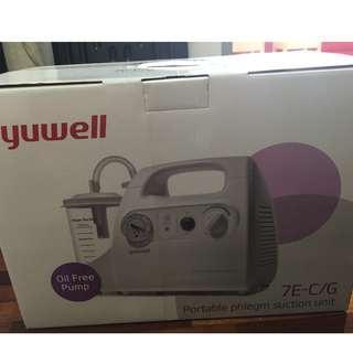 Yuwell Portable Phlegm Suction Pump Unit 7E-C/G