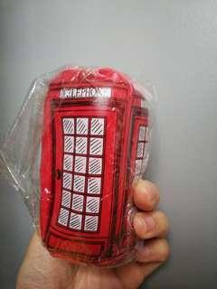 倫敦電話亭散紙包掛飾