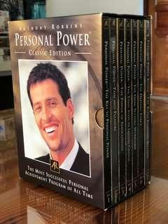 🚚 Anthony Robbins Personal Power CD collection