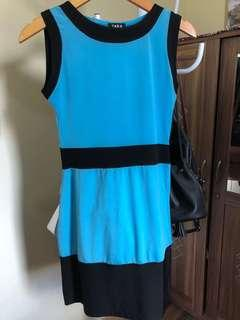 Dress pesta blue