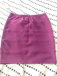 Pink Purple Skirt
