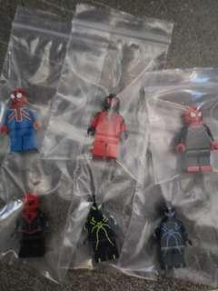 Lego Custom Minifugures Spiderman