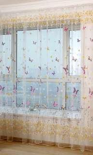 Butterfly Curtain 100cm by 200cm