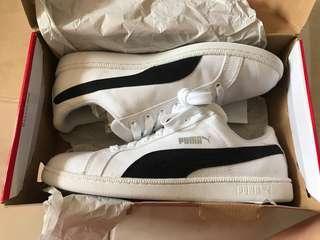 Puma White-Black